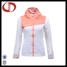 Art und Weiseentwurfs-kundenspezifische Sport-laufende Jacke für Frauen