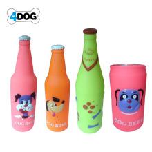 Juguete para perro botella de plástico