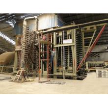 Máquina de prensa caliente MDF