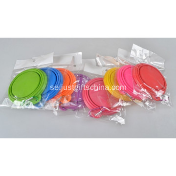 Promotionell Pet Food Silicone Container