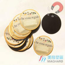 Dekorativer und fördernder Geschenkkühlraummagnet / Magnetaufkleber / runder Magnet