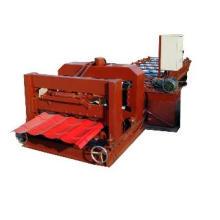 Machine de formage de rouleaux de tuiles émaillées en acier galvanisé entièrement automatique