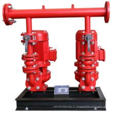 Équipement fixe d'approvisionnement en eau de lutte contre l'incendie