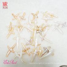 Irrégulier / Baroque / Cross Shape Loose Pearls