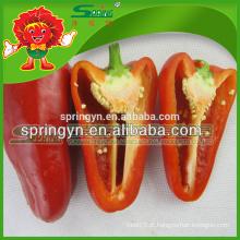 Doce, vermelho, amarelo, pimenta, melhor, fresco, verde, capsicum