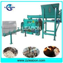 Biomasse Stroh Stiele Holz Sägemehl Brikett Maschine
