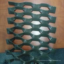 Покрынная PVC Расширенная металлической сетки