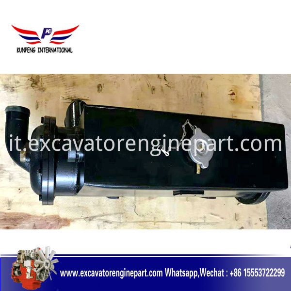 Oil cooler assembly for Yuchai Marine T9000 Engines