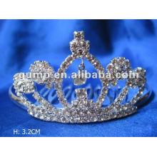 Crstal tiara comb (GWST12-086)