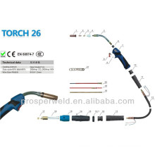 High quality Mig welding gun 26