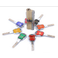 Anti-Theft safety Door 6 Tracks Brass Blade Lock Cylinder