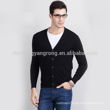2017 hot sale custom wool cashmere middle age mens cardigan sweater