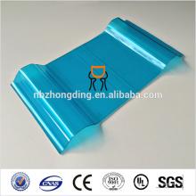 feuille de polycarbonate ondulée au lexan, feuille de polycarbonate solide