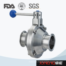 Stainless Steel Clamp End Butterfly Type Sanitary Ball Valve (JN-BLV1001)