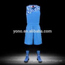 precio competitivo baloncesto jersey de alta calidad llano nuevo uniforme de baloncesto