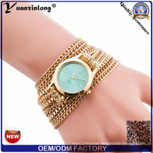 Yxl-416 Casual Watches Dress Ladies Quartz Weave Around Strap Wristwatch Vogue Lady Wrist Watch
