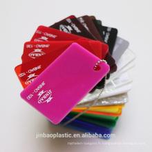 jinbao usine vente directe super qualité acrylique en plastique matière première