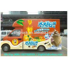 Heißer Verkauf Mininahrungsmittelkarre / beweglicher Nahrungsmittel-LKW / beweglicher Eiscremewagen