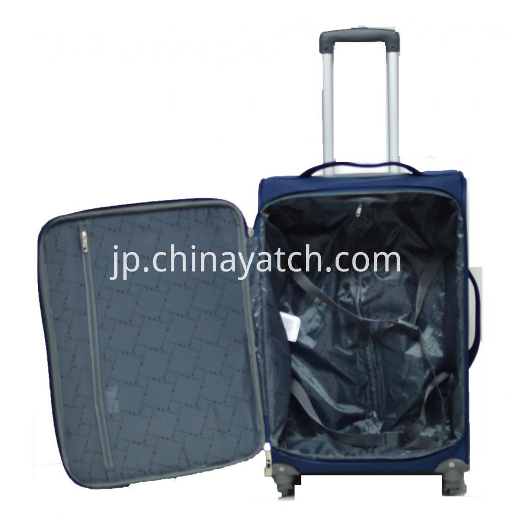 Wheeled Rolling Softside Luggage Set