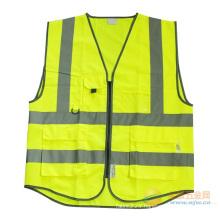High Reflective Safety Vest with Many Pockets