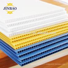 JINBAO 4x8 48x96 3 mm en plastique creux bulle ondulé pp feuille