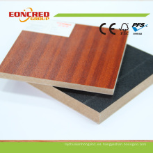 Venta caliente Melamina MDF, Deorative MDF Board