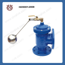 H142X hydraulic flanged Angle float valve
