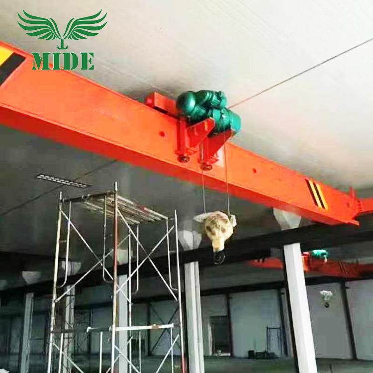 5 10 ton single girder eot crane