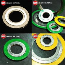 China fornecimento de alta qualidade Spiral Wound Gasket Ss304 tipo básico com CS interno e anéis externos CS