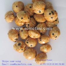 Leckeres gesundes Frühstück Snack knusprig beschichtete Erdnüsse