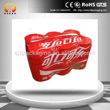 Film imprimé PE Heat Shrink pour l'emballage des boissons