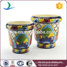 YSfp0001 Einzigartiger Blumentopf Handdruck Designs für Europa Markt