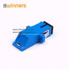 SC / APC SC / PC Simplex Optischer Adapter Mit Flansch