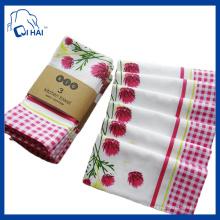 Serviette de thé en coton d'approbation BSCI (QHAE7876)
