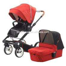 Cama de bebé portátil con asiento reversible
