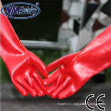 NMSAFETY water proof full coated working PVC glove/working glove