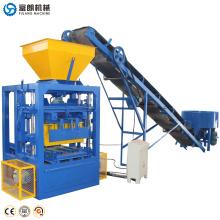 Bloco de cimento de concreto quente que faz a máquina