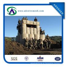 Barreiras de Hesco Galvanizado / Exército Usado Militar Hesco Barreira