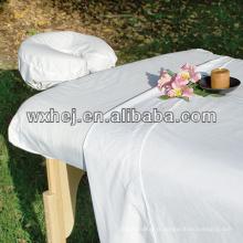 Oreiller de massage en coton blanc