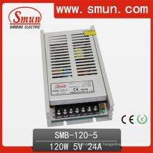 120W ultra-fino único de alimentação de comutação de saída / SMPS (SMB-120W) CE RoHS
