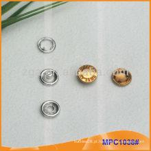 Prong Snap Button / Pinça com design de moda / Logo MPC1035