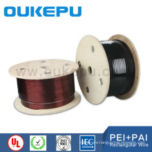 10years no complaint superior quality flat size enamelled copper wire