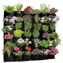 Garden Planter Flower Pots Waterproof Vertical Wall