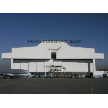 Profesional y Best Seller Estructura de acero prefabricada Hangar