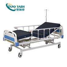 Cama de hospital elétrica automática de 3 funções