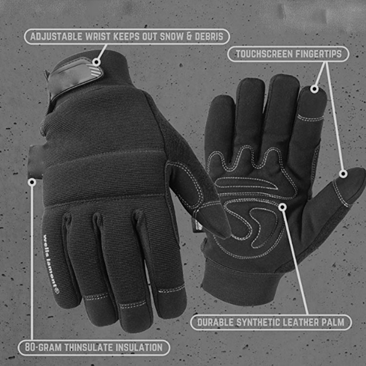 Fashion Design Touch Screen Gloves