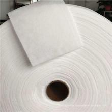 Manufacturer stock middle layer folding filter felt ES fiber Hydrophobic hot air nonwoven cotton fabric