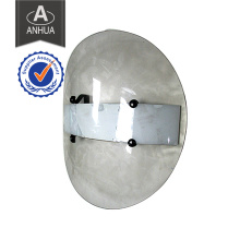 Police Transparent PC Round Anti Riot Shield