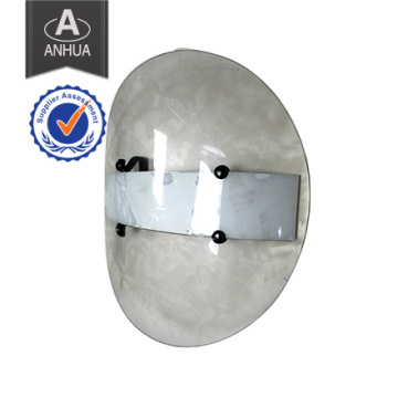 Police Transparent PC Round Anti Riot Shield