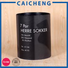 Personnalisé de haute qualité cylindre kraft boîte de rangement en papier